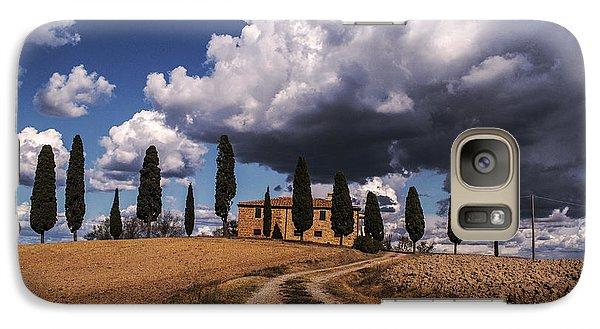Galaxy Case featuring the photograph Tuscan Villa by Yuri Santin