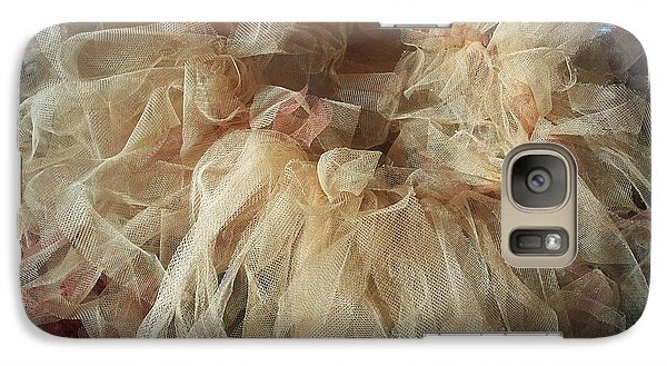 Galaxy Case featuring the painting Tutu by Judith Desrosiers