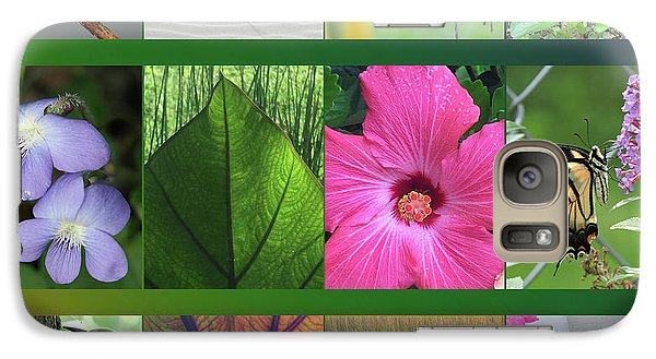 Galaxy Case featuring the photograph Twelve Months Of Nature by Peg Toliver