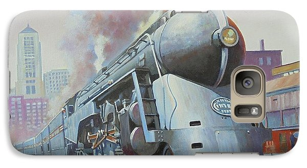 Galaxy Case featuring the painting Twenthieth Century Limited by Mike Jeffries
