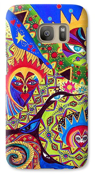 Galaxy Case featuring the painting Serpent's Dance by Marina Petro