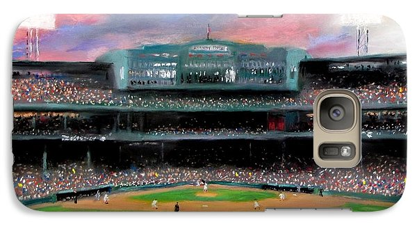 Sports Galaxy S7 Case - Twilight At Fenway Park by Jack Skinner