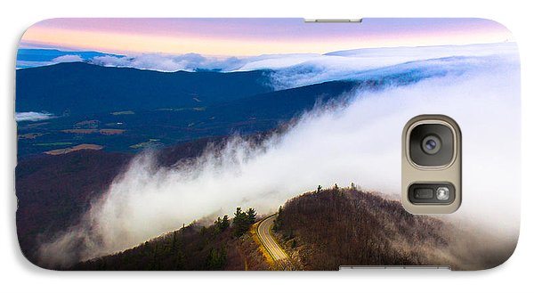 Galaxy Case featuring the photograph Twilight Dawn by Everett Houser