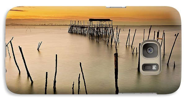 Galaxy Case featuring the photograph Twilight by Jorge Maia