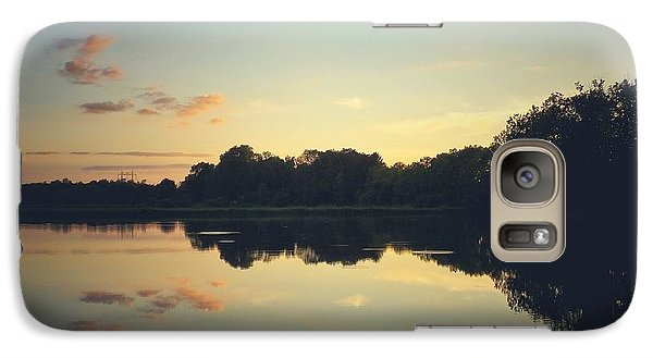 Galaxy Case featuring the photograph Twilight by Karen Stahlros
