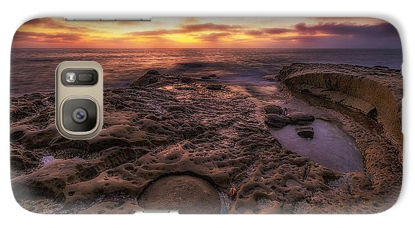 Galaxy Case featuring the photograph Twilight On The Pacific - California Coast by Photography  By Sai