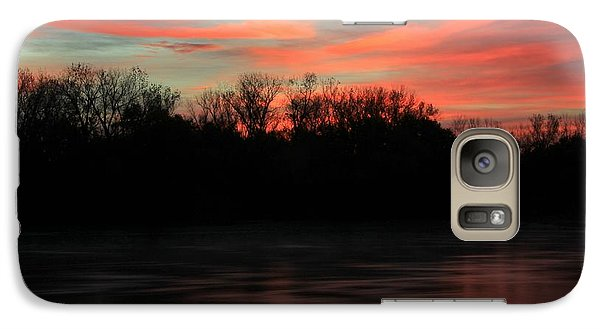 Galaxy Case featuring the photograph Twilight On The River by Chris Berry