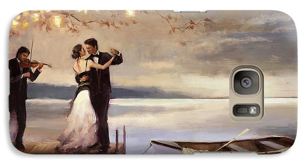 Violin Galaxy S7 Case - Twilight Romance by Steve Henderson