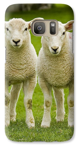Twin Lambs Galaxy S7 Case
