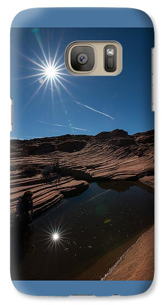 Twin Stars Reflection Galaxy S7 Case