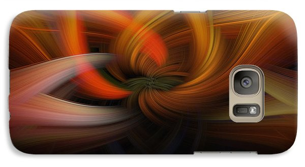Galaxy Case featuring the photograph Twirl Abstract by Skip Tribby