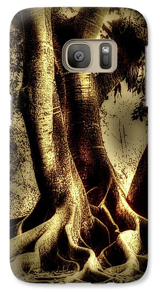 Galaxy Case featuring the photograph Twisted Trees by Tom Prendergast