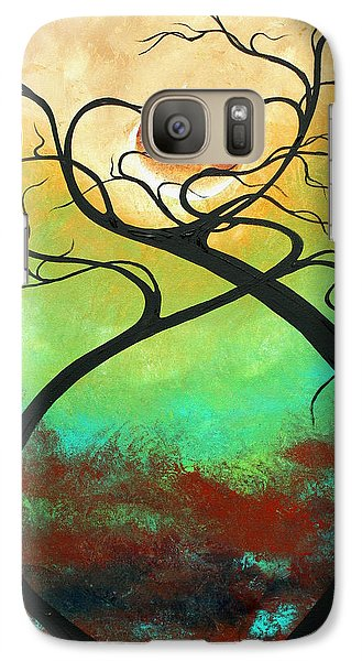 Twisting Love II Original Painting By Madart Galaxy S7 Case