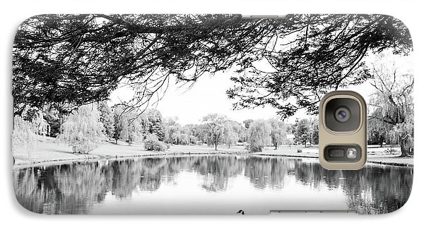 Galaxy Case featuring the photograph Two At The Pond by Karol Livote