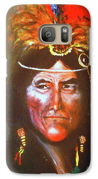 Galaxy Case featuring the painting Two Bears by Donna Dixon