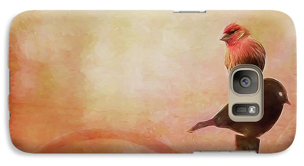 Two Birds In The Mist Galaxy S7 Case