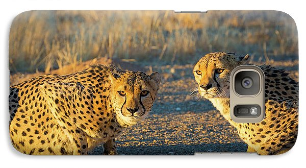Two Cheetahs Galaxy S7 Case