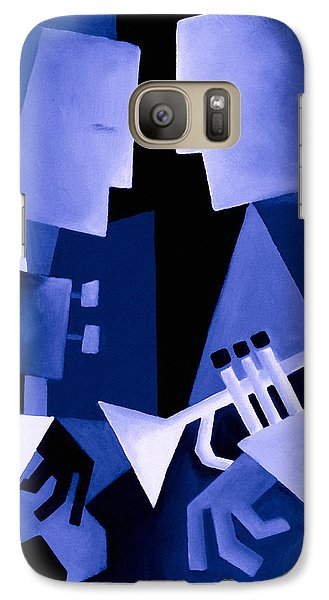 Jazz Galaxy S7 Case - Two For The Blues by Thomas Andersen