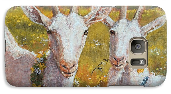 Two Goats Of Summer Galaxy S7 Case