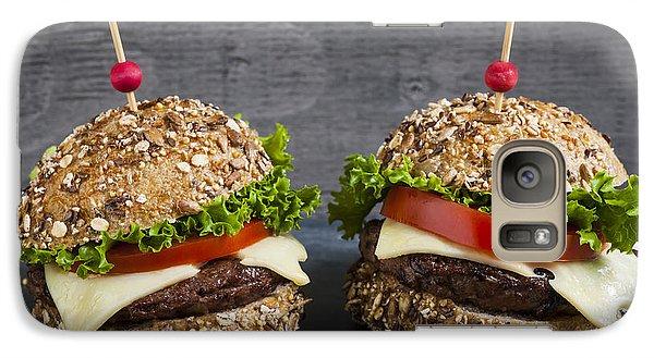 Two Gourmet Hamburgers Galaxy S7 Case by Elena Elisseeva