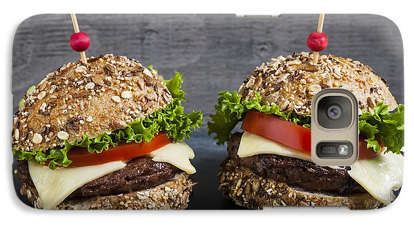 Two Gourmet Hamburgers Galaxy S7 Case by Elena Elisseeva