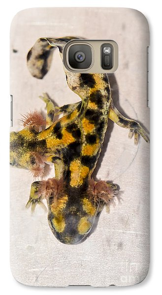 Two-headed Near Eastern Fire Salamande Galaxy S7 Case