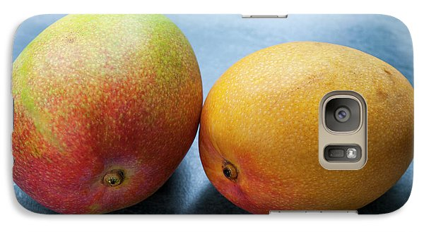 Mango Galaxy S7 Case - Two Mangos by Elena Elisseeva