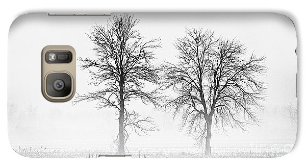 Galaxy Case featuring the photograph Two... by Nina Stavlund