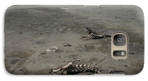 Galaxy Case featuring the photograph Two Or 2 Halves Of 1 by Marie Neder