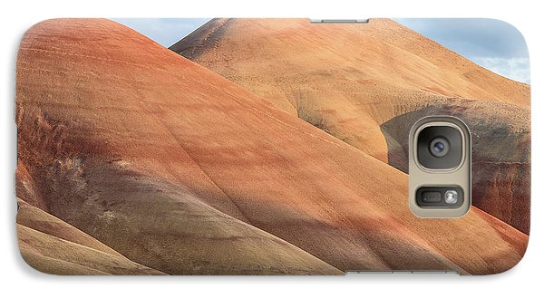 Galaxy Case featuring the photograph Two Painted Hills by Greg Nyquist