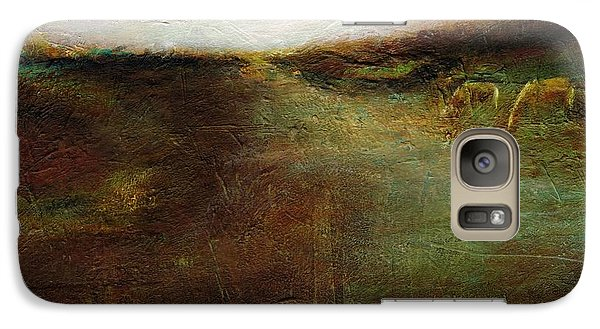 Galaxy Case featuring the painting Two Palominos by Frances Marino
