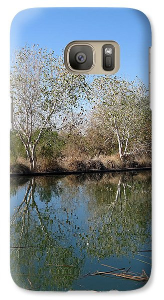 Galaxy Case featuring the photograph Two Reflected by Laurel Powell
