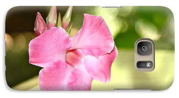 Galaxy Case featuring the photograph Two Step by Cathy Dee Janes
