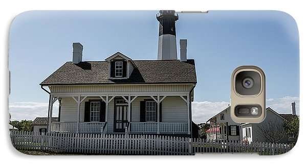 Galaxy Case featuring the photograph Tybee Island Lighthouse by Kim Hojnacki