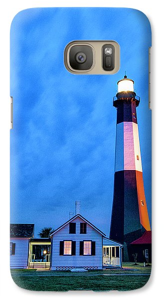 Galaxy Case featuring the photograph Tybee Island Lighthouse by Phyllis Peterson