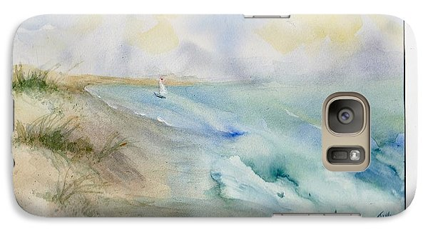Galaxy Case featuring the painting Tybee Memory by Doris Blessington