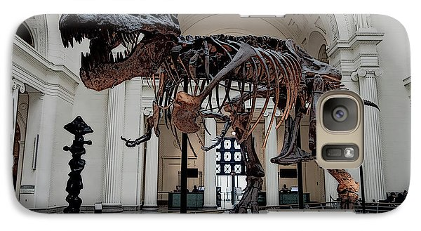 Galaxy Case featuring the digital art Tyrannosaurus Rex Sue - Chicago by Daniel Hagerman