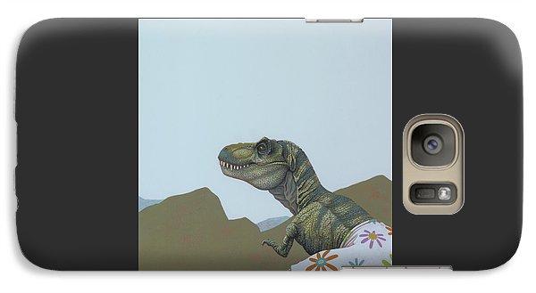 Tyranosaurus Rex Galaxy S7 Case by Jasper Oostland