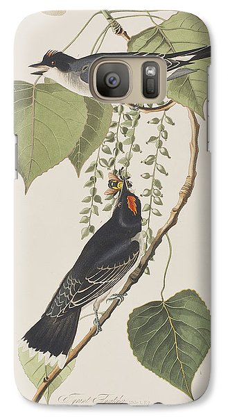Flycatcher Galaxy S7 Case - Tyrant Fly Catcher by John James Audubon