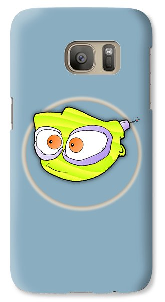 Galaxy Case featuring the digital art Tyro by Uncle J's Monsters