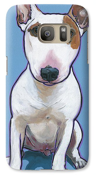 Galaxy Case featuring the painting Tyson by Nadi Spencer