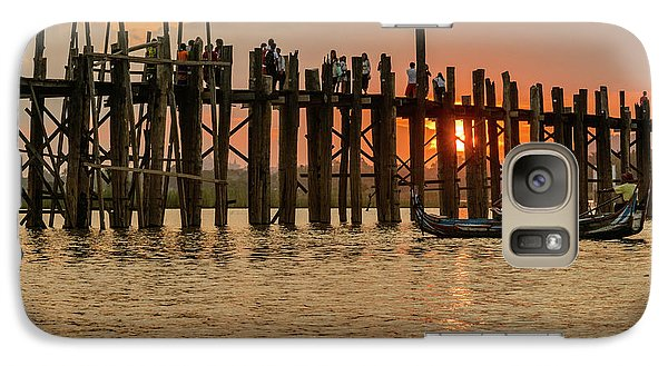 U-bein Bridge Galaxy S7 Case by Werner Padarin