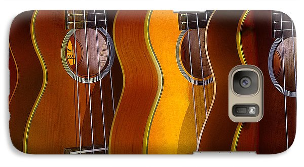 Galaxy Case featuring the photograph Ukes by Jim Mathis