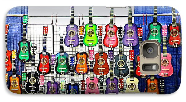 Galaxy Case featuring the photograph Ukuleles At The Fair by Lori Seaman