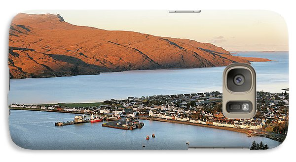 Galaxy Case featuring the photograph Ullapool Morning Light by Grant Glendinning