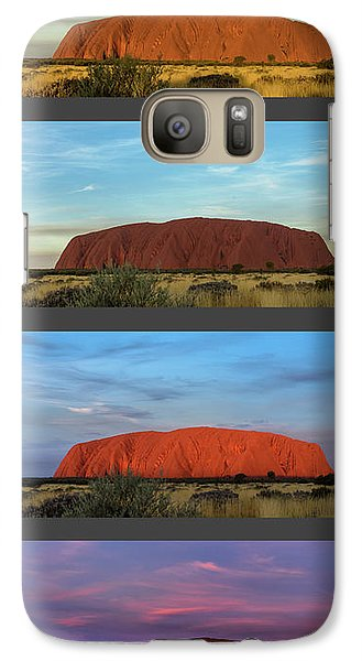 Uluru Sunset Galaxy S7 Case