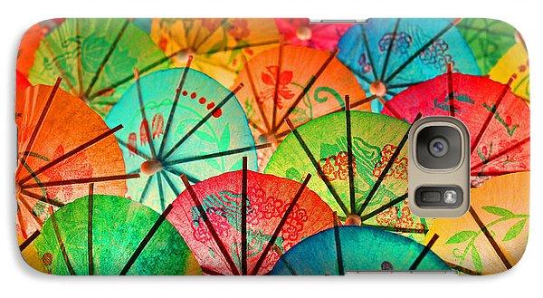 Galaxy Case featuring the photograph Umbrellas Galore by Bobby Villapando
