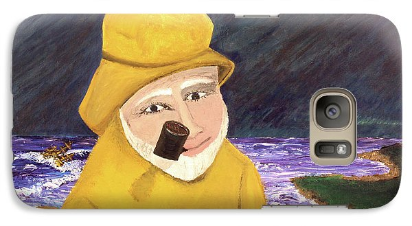 Galaxy Case featuring the painting Uncle Bunk by Thomas Blood