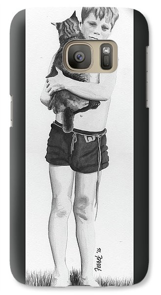 Galaxy Case featuring the painting Uncle George by Ferrel Cordle