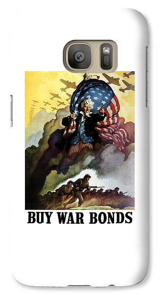 Uncle Sam - Buy War Bonds Galaxy S7 Case